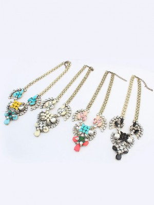 Occident Major suit Retro Hyperbolic Personality Necklace