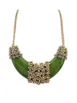 Occident Retro Exotic Style Hyperbolic Necklace