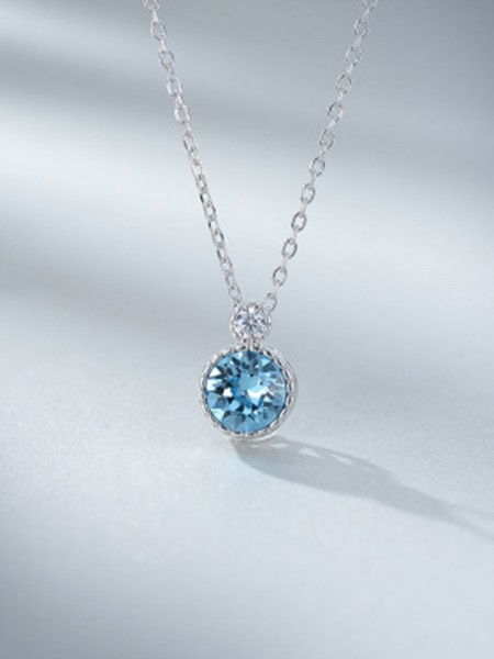 Ladies's 925 Sterling Silver Fashion Necklaces