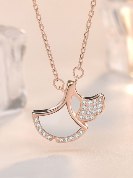 Fashion Women's 925 Sterling Silver Necklaces