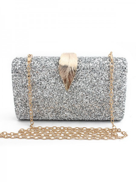 Luxurious Synthetic Leather Wedding Evening Party Handbags