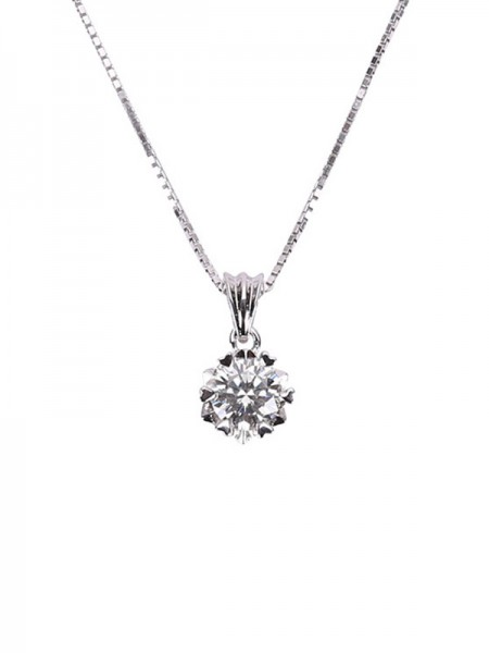 Women's Necklaces Simple S925 Silver