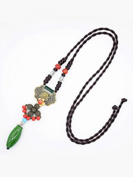 Women's Alloy Vintage Necklaces