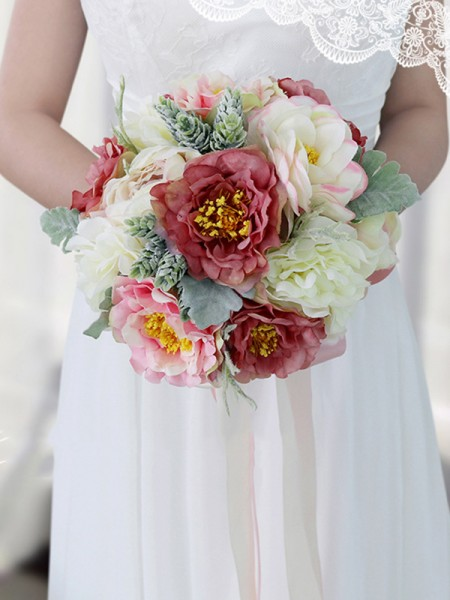 Artificial peony silk flower Wedding Home Party Decoration