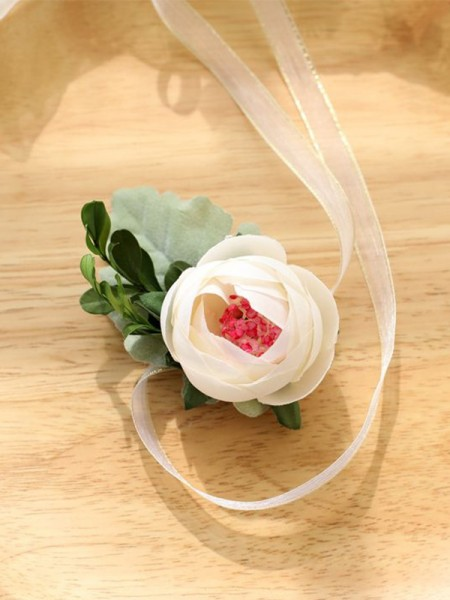 Wedding decoration Fancy Cloth Wrist Corsage