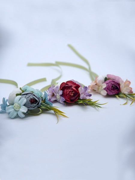 Wedding Supplies Fascinating Cloth Wrist Corsage