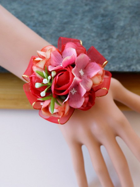 Silk Flower Charming Wrist Corsage