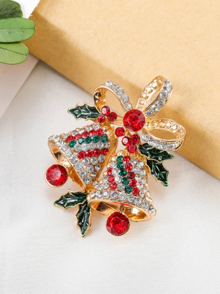 Fashion Alloy With Rhinestone Womens Brooch