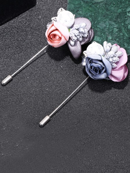 Chic Alloy With Imitation Pearl Womens Brooch