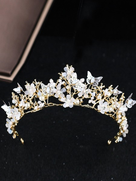 Unique Alloy Wedding Headpieces