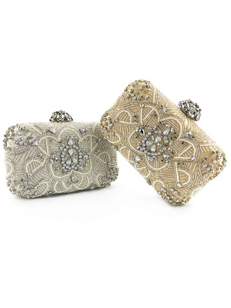 Fashion Wedding Evening/Party Handbags With Beads