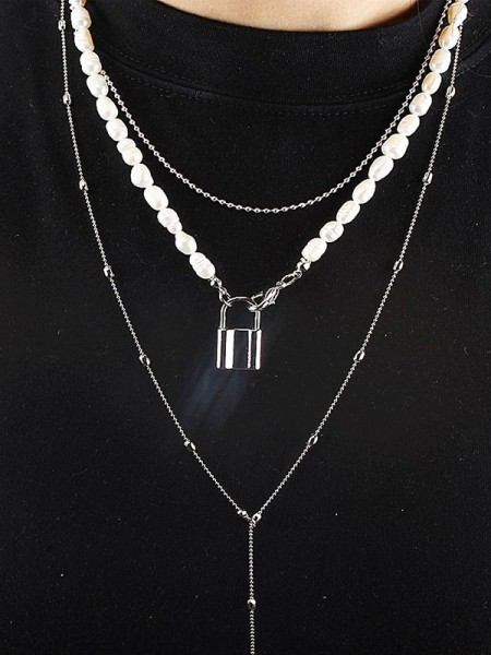 Hot Sale Necklaces Occident Vintage Alloy With Rhinestone