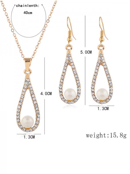 Wedding Bridal Luxurious Alloy Necklaces