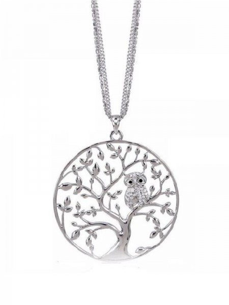 Women's Beautiful Alloy Necklaces With Tree
