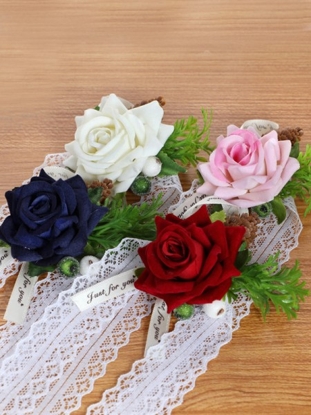 Corsage Wedding Flower Bridal Wrist Rose Flower