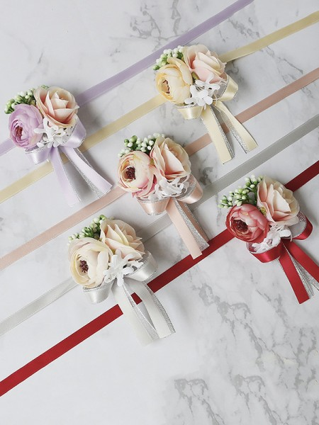 Gorgeous Wedding flower Cloth Wrist Corsage