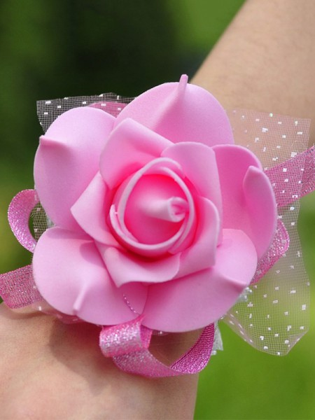 Wedding Supplies Simple Silk Wrist Corsage