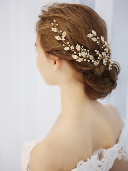 Stunning Pearls Bridal Headpieces
