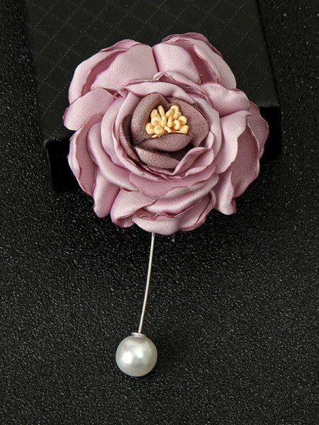 Pretty Alloy With Imitation Pearl Womens Brooch